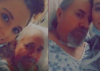Hombre se hace amigo de su enfermera durante hospitalización por Covid-19