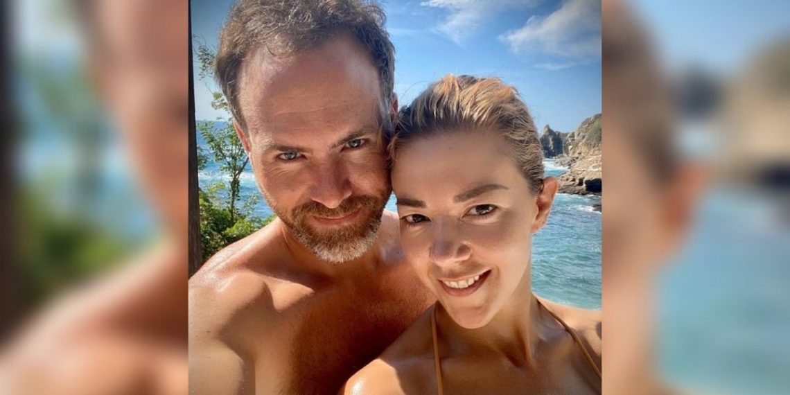 Fernanda Castillo y Erik Hayser.  Foto: Instagram/ erikhayser