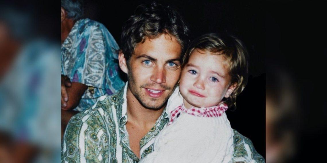 Paul Walker y su hija. Foto: Instagram/ meadowwalker