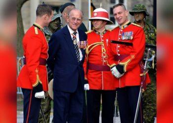 última aparición del príncipe Felipe