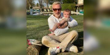 Gianluca Vacchi anunció que su pequeña hija fue operada