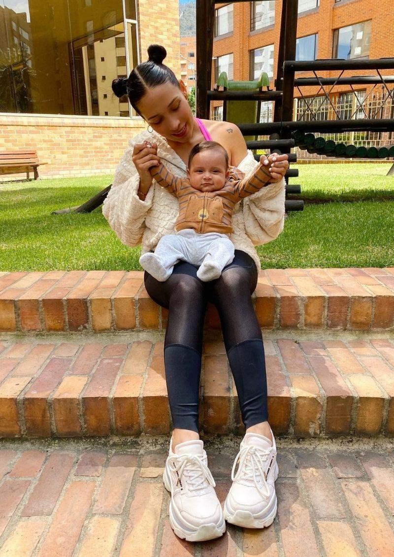 Luisa Fernanda W habló si dejaría a su hijo hacerse tatuajes