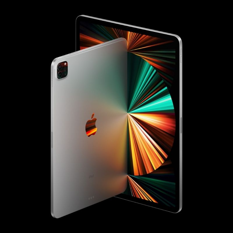 iPad Pro iPhone morado