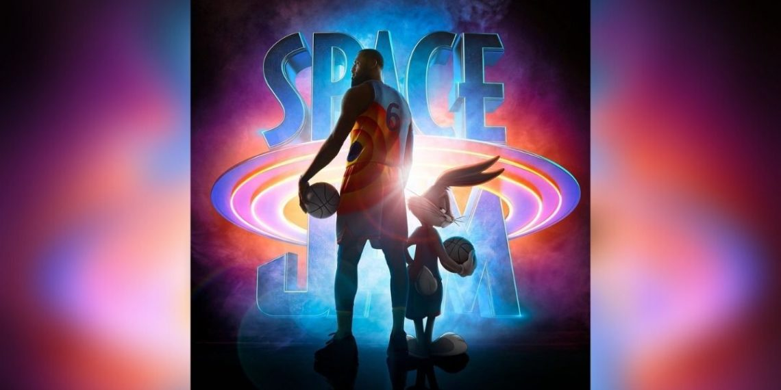 LeBron James y Bugs Bunny en 'Space Jam: A New Legacy'