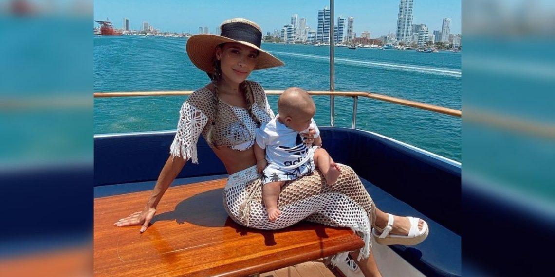 Luisa Fernanda W y Máximo. Foto: Instagram/ luisafernandaw
