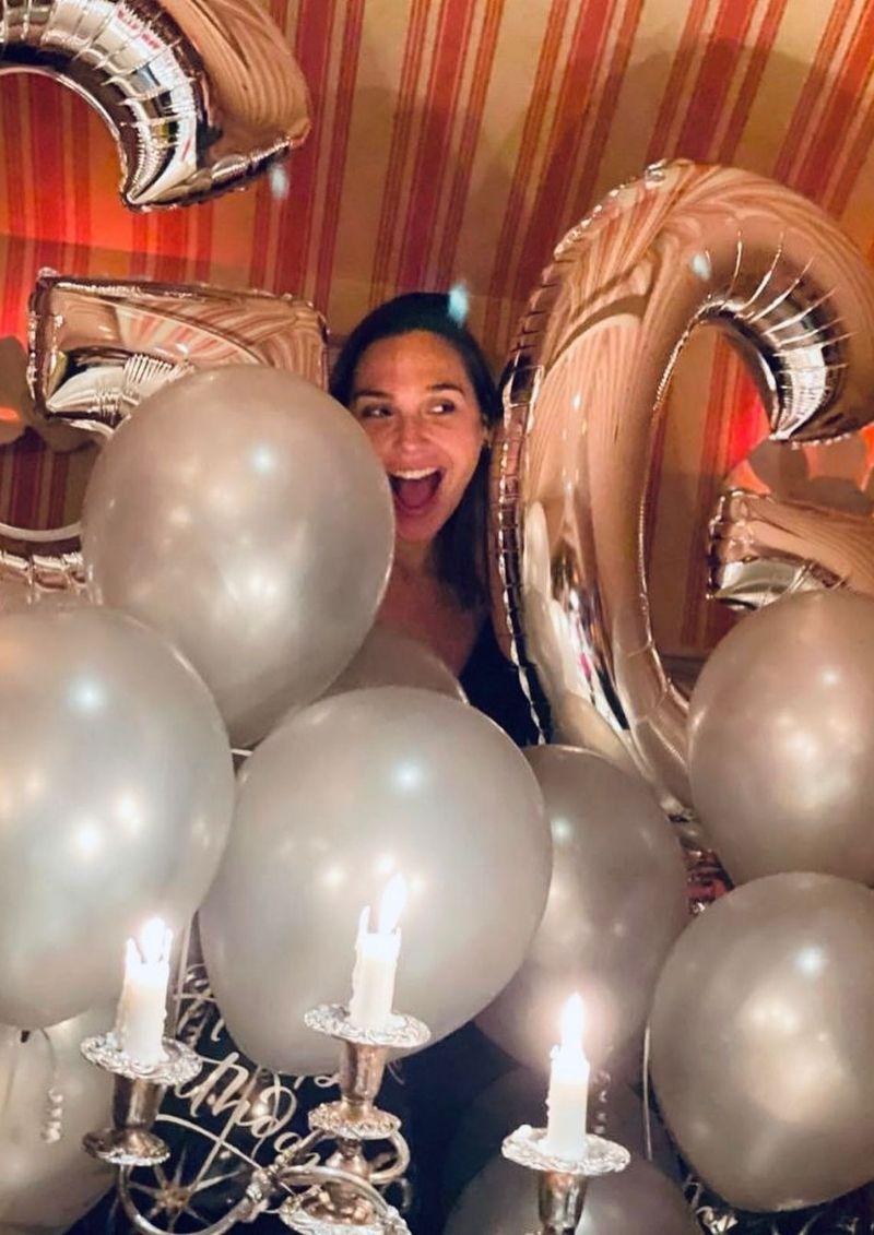 Gal Gadot celebró su cumpleaños