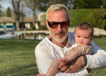 Estos famosos padres celebrarán por primera vez el Día del Padre en 2021. Fuente: Instagram @gianlucavacchi