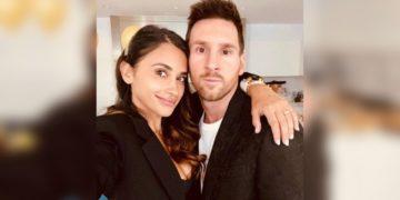 esposa de Messi publica tierna foto inédita
