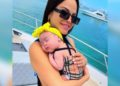 Natti Natasha bebé vacunaron