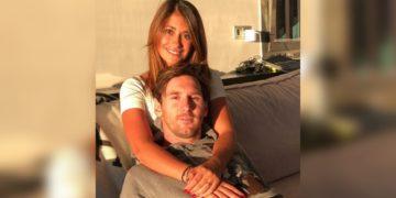 Reencuentro de Antonela Roccuzzo con Lionel Messi