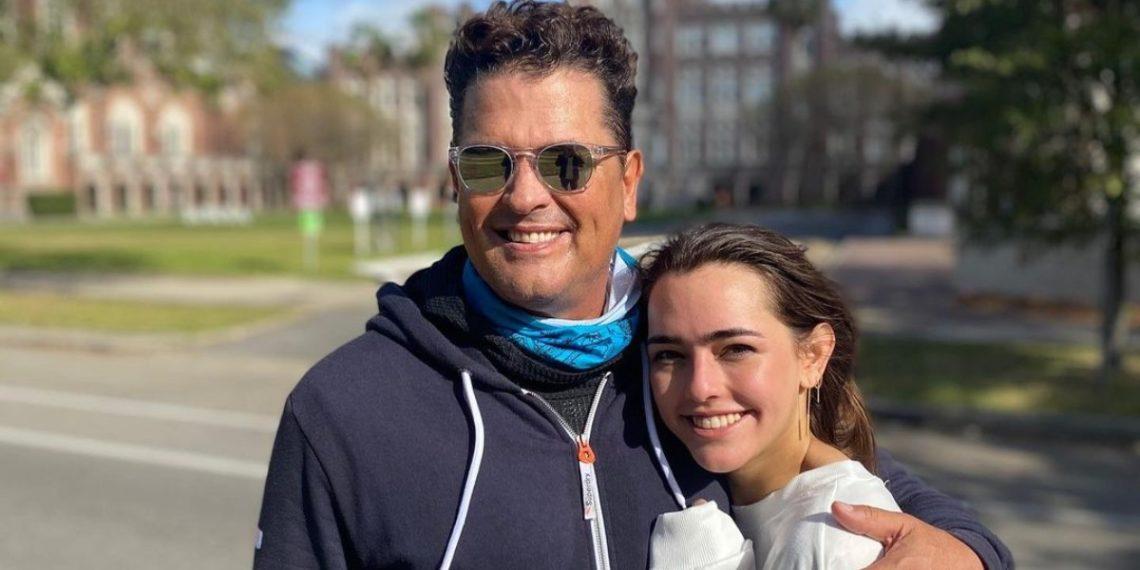 Lucy Vives debuta como cantante junto a su padre.