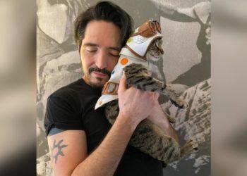 Bubblegum, el gatito que fue adoptado en el set de 'The Suicide Squad'