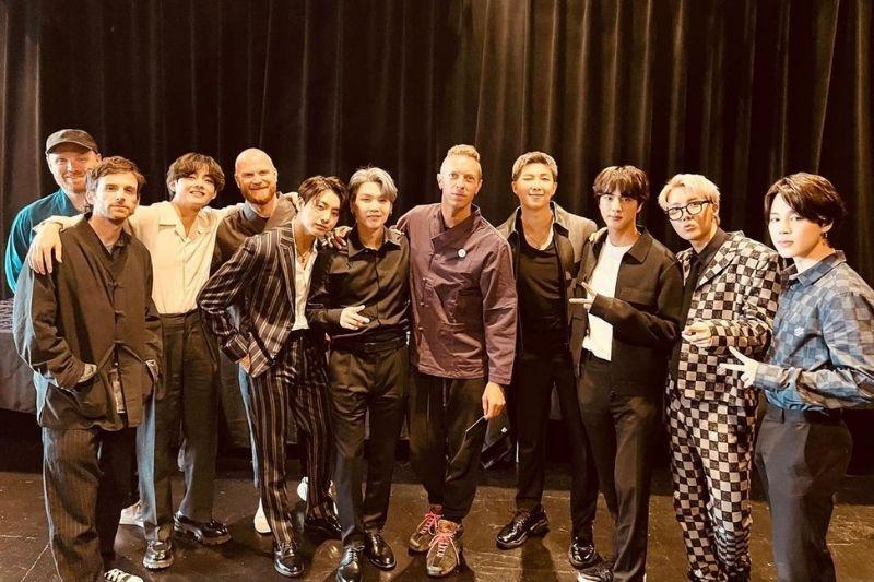 Coldplay y BTS se unieron por una buena causa