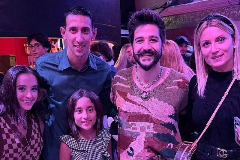 Camilo y Evaluna recibieron con los brazos abiertos a Messi y sus compañeros
