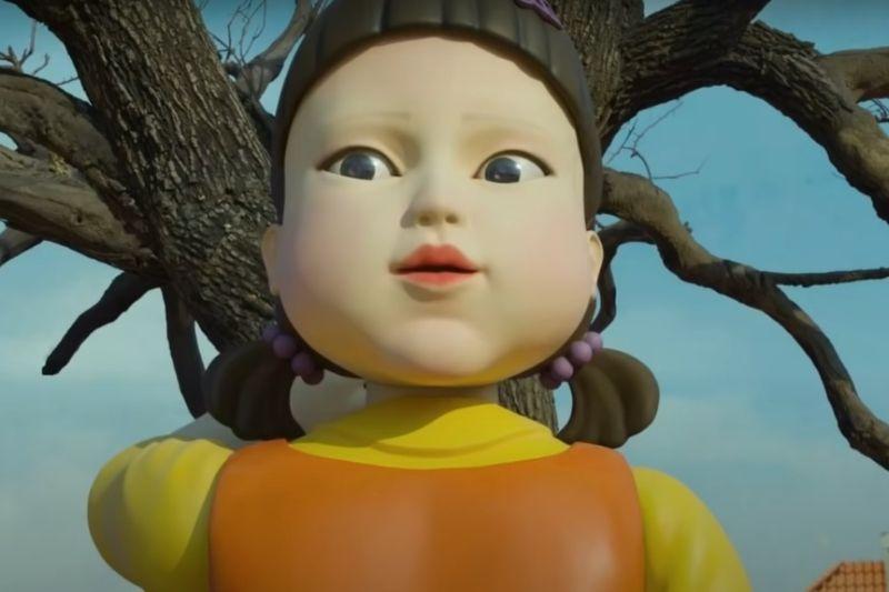 Muñeca de 'El juego del calamar'